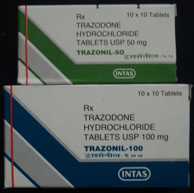 deprax-trazodone